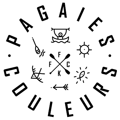 Logo Pagaies Couleurs site